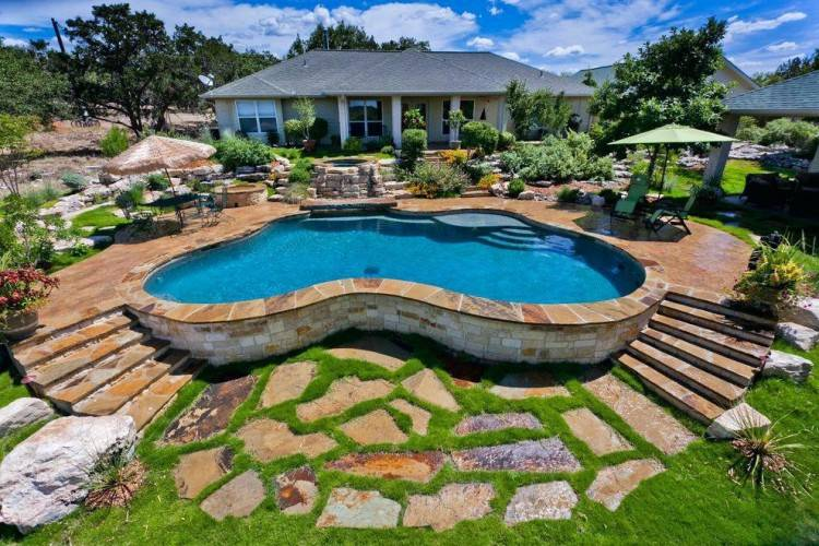 inground pool designs for sloped yards ideas pictures best about small on  back yard backyard swimming