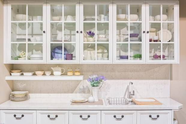 Use baskets to organize any  items that