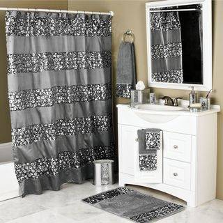 Use with a Bendable or Half Oval Shower Curtain Rod or a bendable  metal rod to