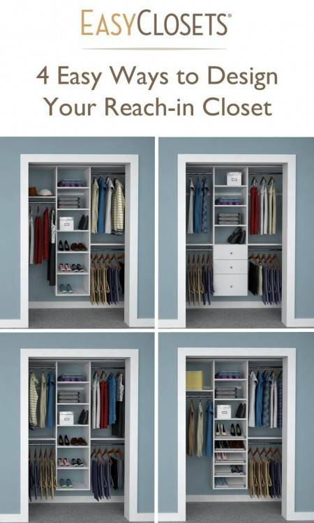 I recently reconfigured some space in our house into a walk in closet based  on your designs and this page was a life saver