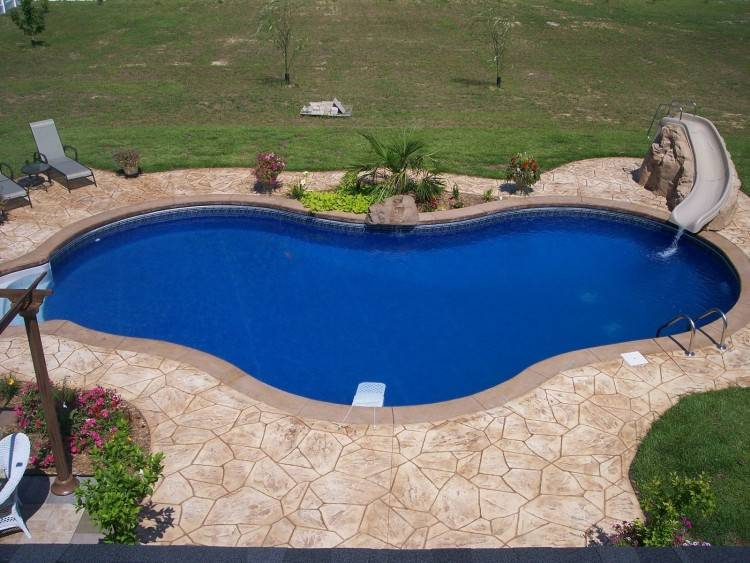 Pool Deck Materials Guide Top Decking Options Install It Paving Stones