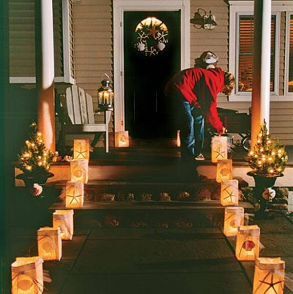 this holiday season with one of these hundred Christmas porch  decorating ideas