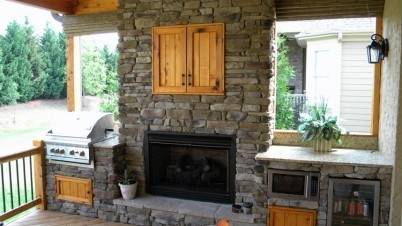 Outdoor Kitchen Fireplace 17 Best Images About Patio On Pinterest Decks  Pergola Roof And