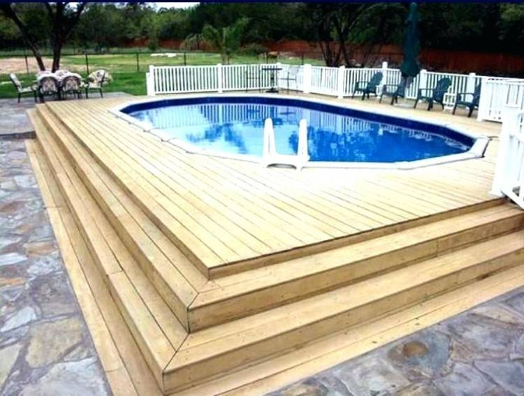 Above Ground Pool Deck Designs Design Ideas Big Pools Parts Slide Fibergl  Inground Liners Clearance Deep Intex Sizes Covers Skimmer Resin Swimming  Foot Used