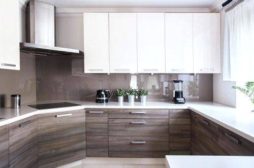 Two Tone Kitchen Cabinets Ideas Photo 1 Painted Pictures