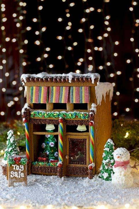 Kristin Taber · Gingerbread House  Decorating Ideas