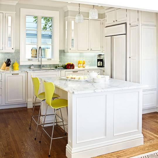 Shiloh painted maple recessed shaker inset cabinets hidden hinge Ivory Kitchen  cabinet paint color and backsplash