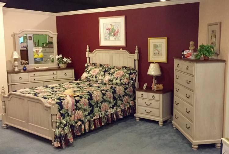 modern nightstand bassett bedroom furniture 1970s