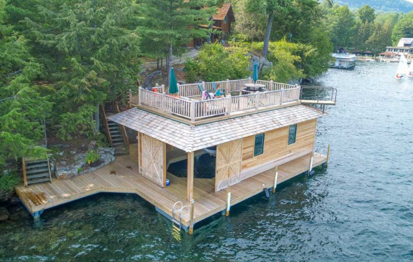 dock designs for lakes