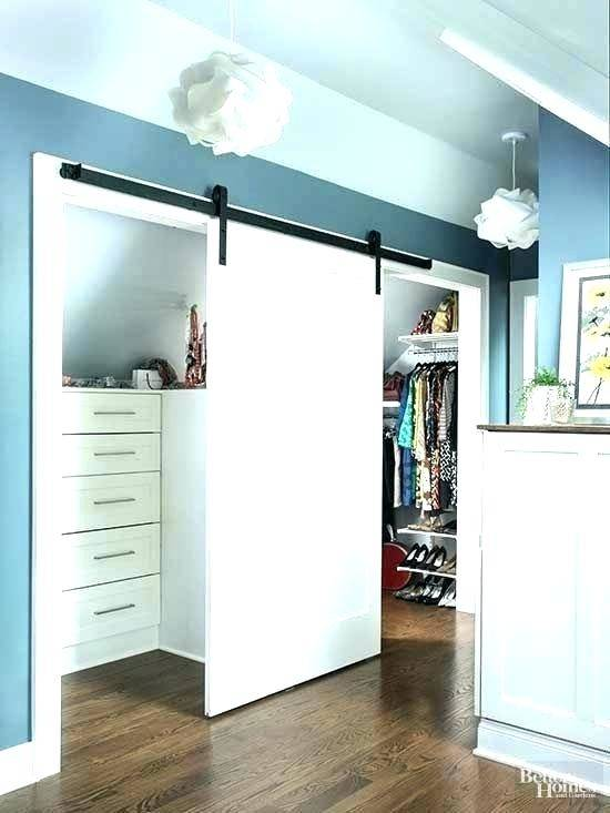 slanted ceiling closets
