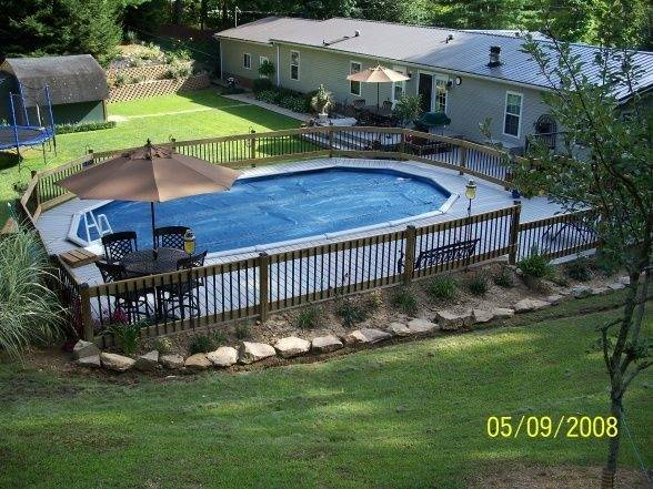 Backyard Ideas With Pools Large And Beautiful Photos Photo