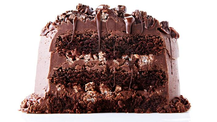 The magical ingredient in the Chocolate Frosting is the Evaporated Milk – I  discovered this after trawling through the internet for hours on end and  found a