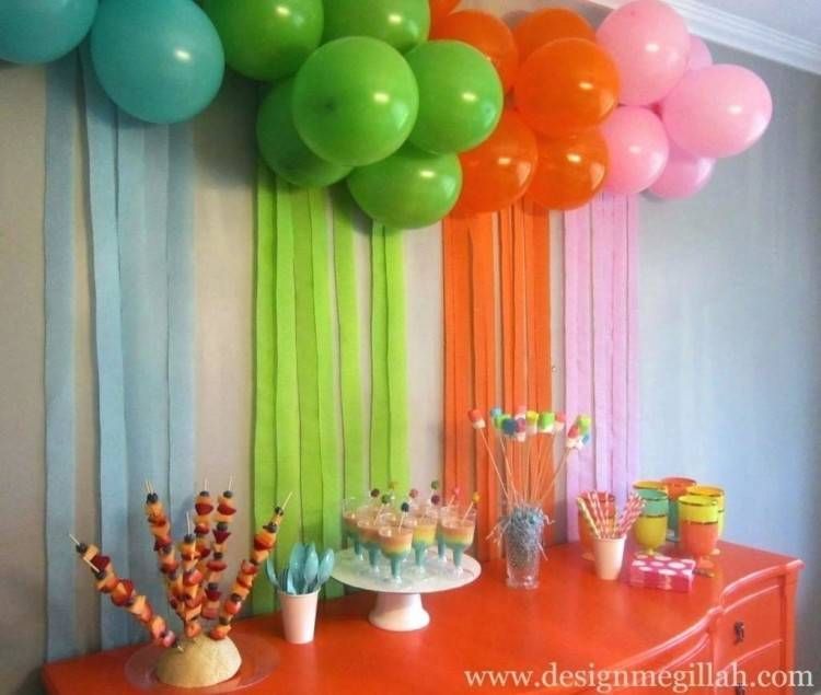 birthday party decoration ideas at home for husband delectable lovely decoration  ideas