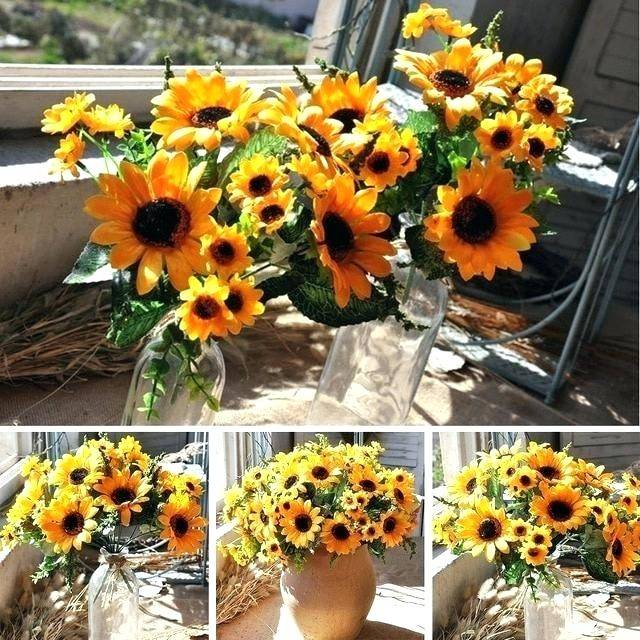 sunflower wedding decorations new bright decoration ideas for your rustic  table