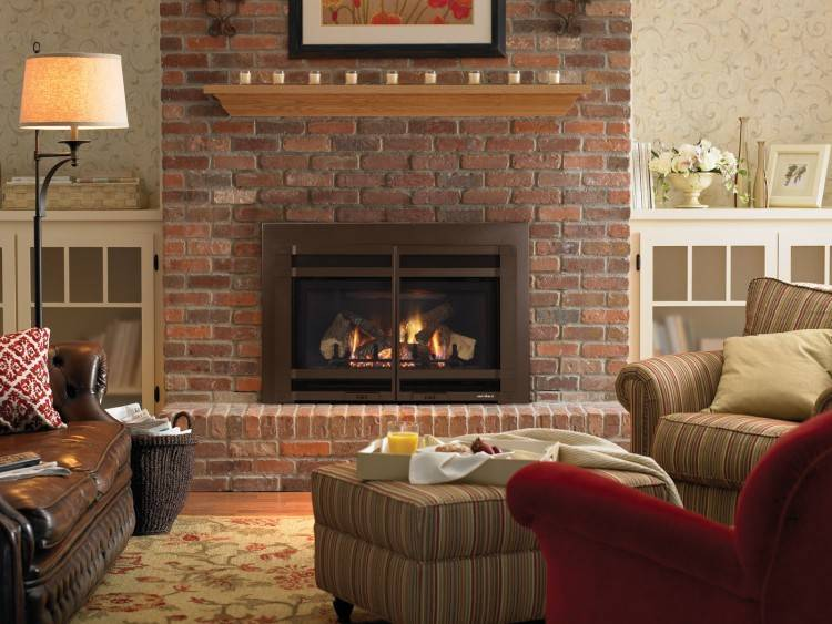 mantel designs for brick fireplaces