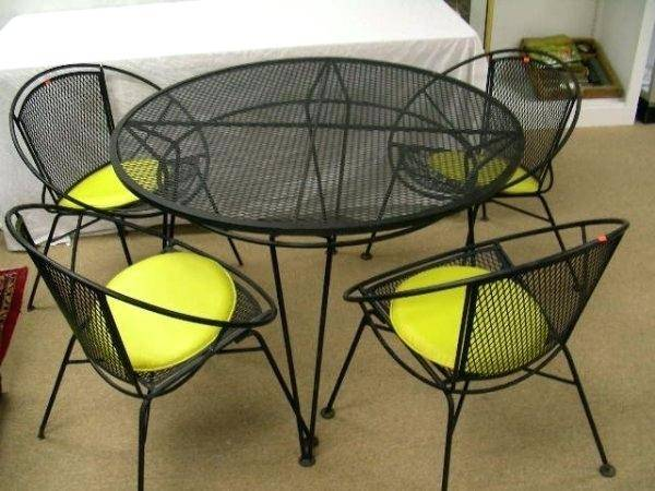 metal outdoor sofa mesh furniture large  wire garden