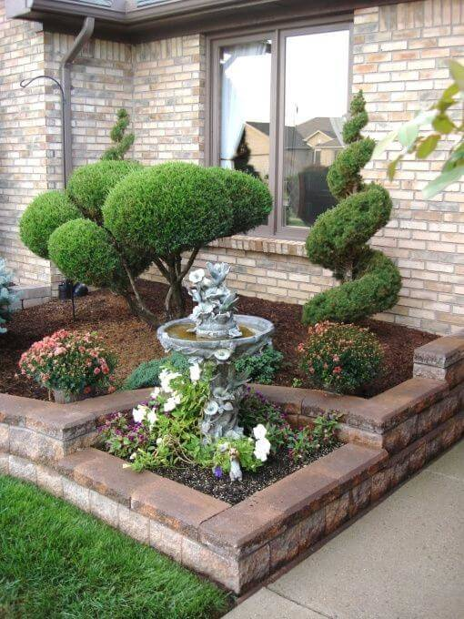 Full Size of Garden Simple Landscaping Front Of House Front Yard Flower Bed  Landscaping Ideas Front