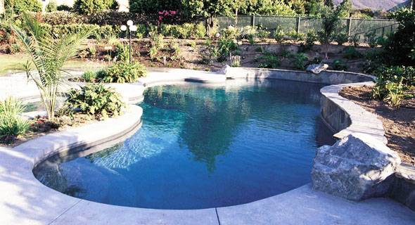 A Geometric pool design can be contemporary, classic or traditional