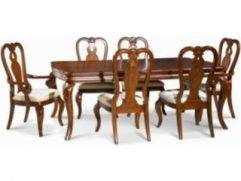 glen 9 piece dining set item number table bordeaux room furniture