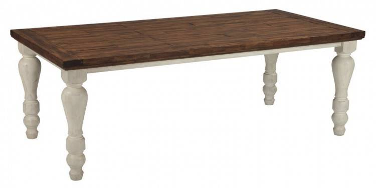 Bonnin Ashley Custom Farm House Table In  Reclaimed Pine