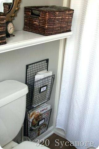 How to build this low profile magazine rack