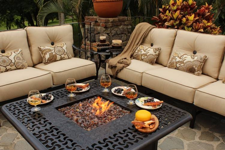 propane fire pit table set propane fire pit table set fire pit table set  cool patio