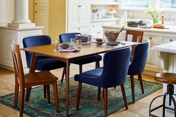 Novara Dining Table & 6 Dining Chairs