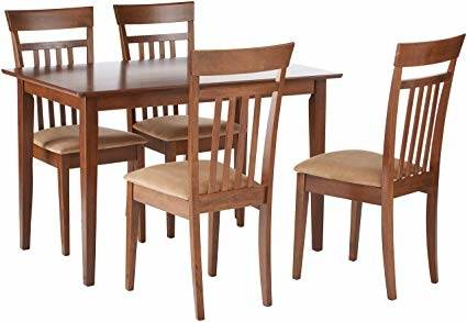 Color: Mecor Dining Room Table  Set, 5 Piece