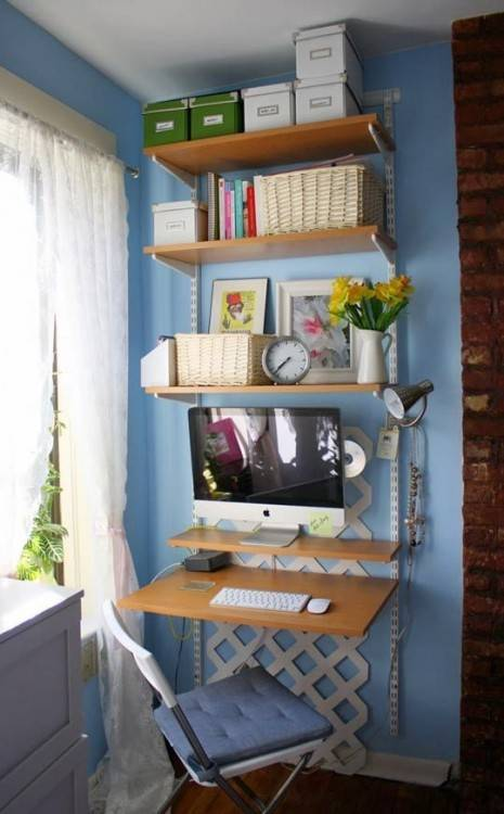 Holly's Closet Home Office Makeover Before & After