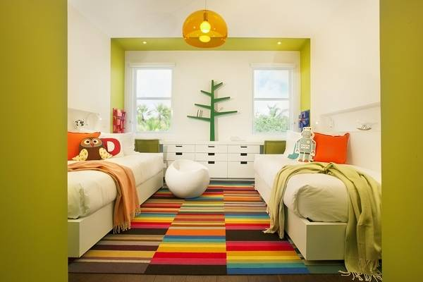 what color rug