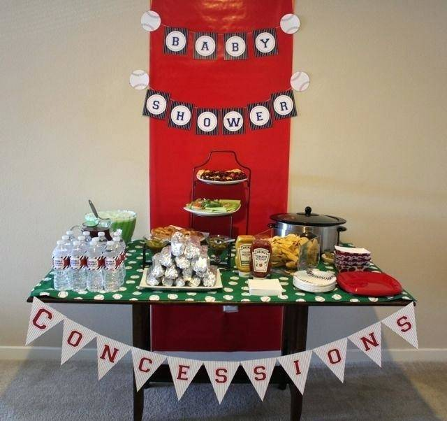 sports+themed+baby+shower+cakes | Sports Themed Baby Shower — Baby