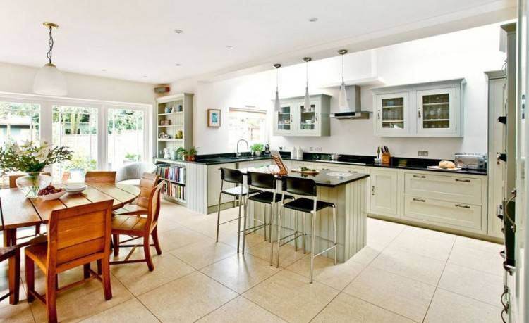 My Open plan Kitchen, Dining and Family area