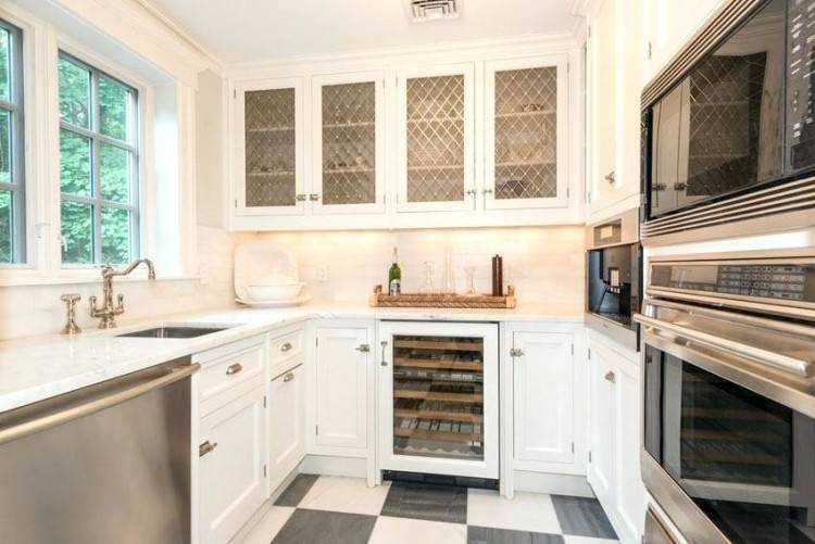 Full Size of Cabinets Ideas For Kitchens With White Kitchen Backsplash Small  Black Countertops What Color