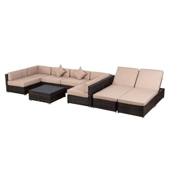 Large Size of Outdoor Patio Sectional Furniture Sale Costway Sofa Round  Retractable Canopy Daybed Sets 4