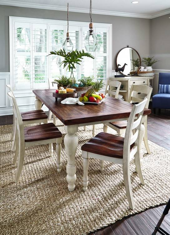 Color: 7pc Formal Dining Table