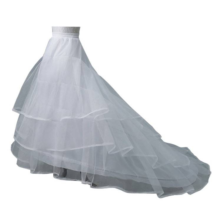 com: 8 Layer Tulle Hoopless Bridal Petticoat Ball Gown Underskirt  Crinoline P003: Baby