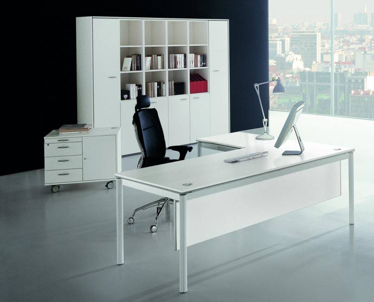 l shaped home office