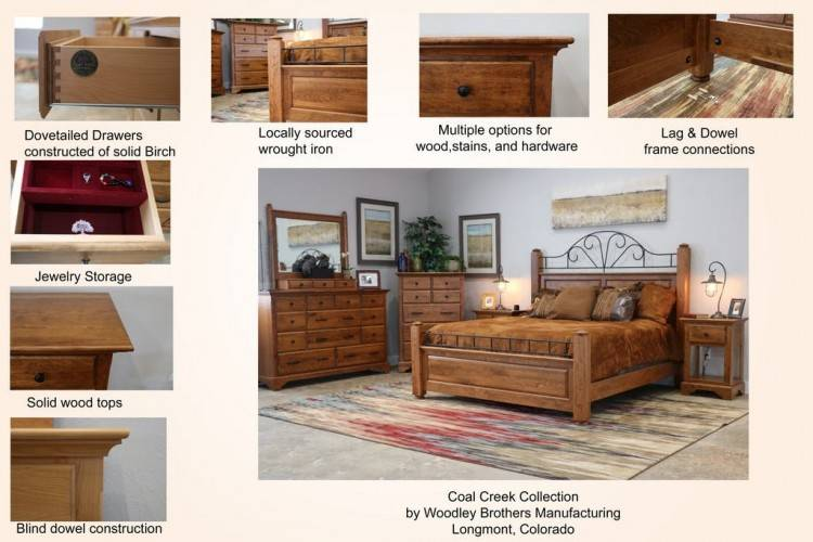 Fascinating Coal Creek Bedroom Set Family Room Ideas Or Other Traditional  Furniture