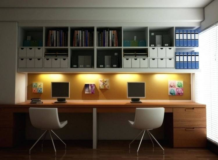View in gallery Modern home office with sleek
