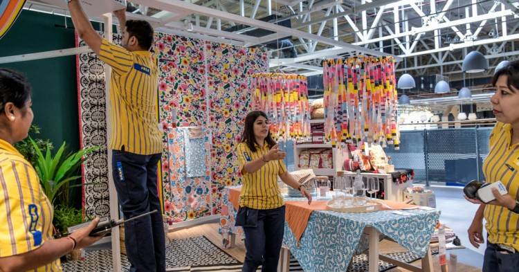 India's first Ikea store opened today in Hyderabad
