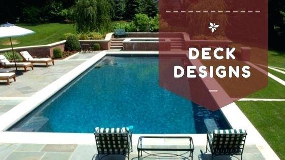 Full Size of Exterior Wonderful Wooden Deck Design Ideas Featuring White  Railing And Hot Tub With