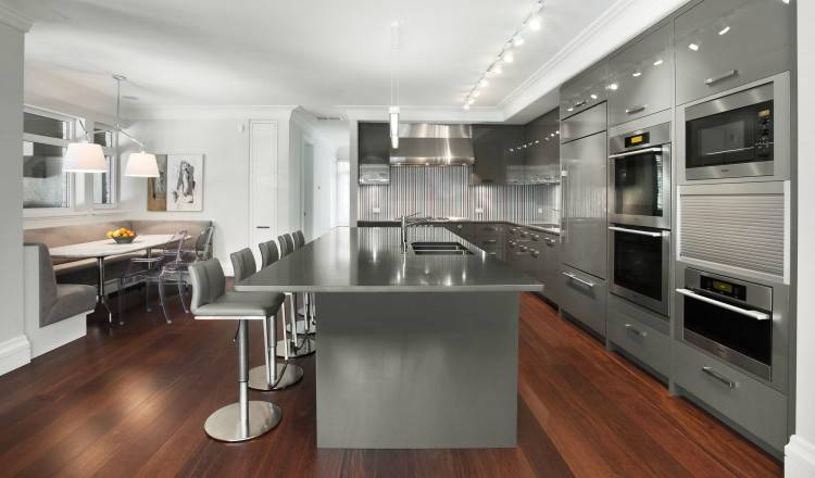 Full Size of Kitchen Pictures Of Grey And White Kitchens Kitchen Cabinet  Colors With White Appliances