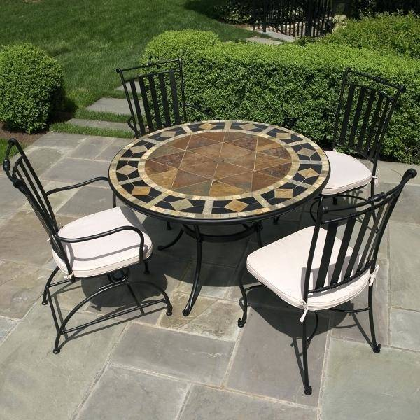 small patio table patio patio chairs and table small patio furniture casual patio  furniture marble mosaic