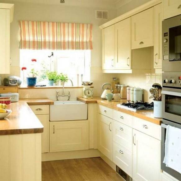 Country Galley Kitchen Designssplendid Cream Kitchen Design With