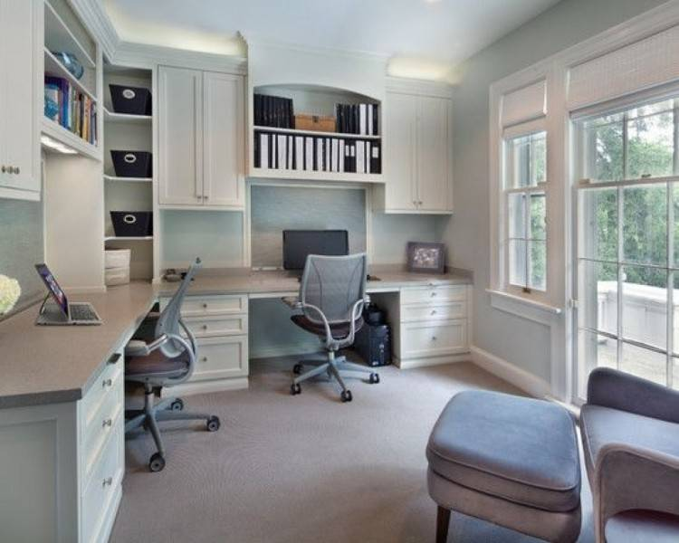 Attractive Home Office Ideas For Two People Home Office Desk For Two  Fireweed Designs
