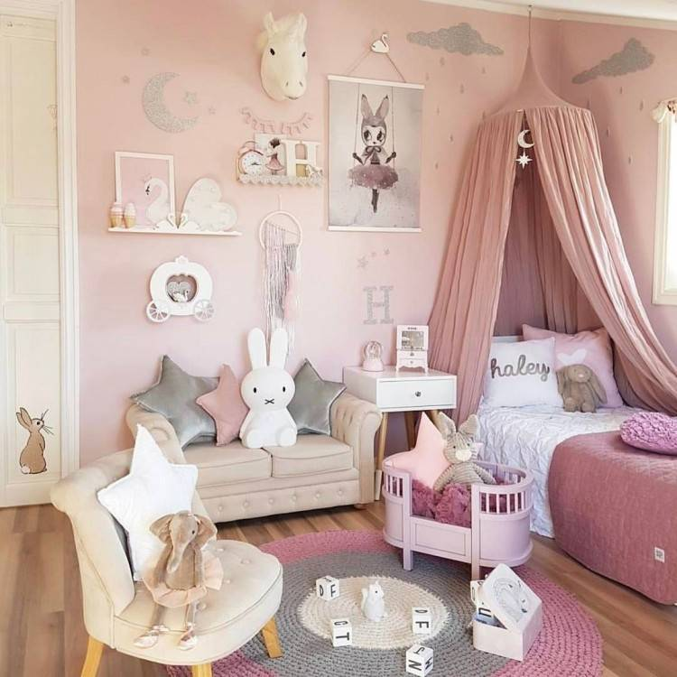 How To Decorate Girls Room Invigorate Cute Ideas A Toddler Girl S Pinterest  For 18 | keytostrong