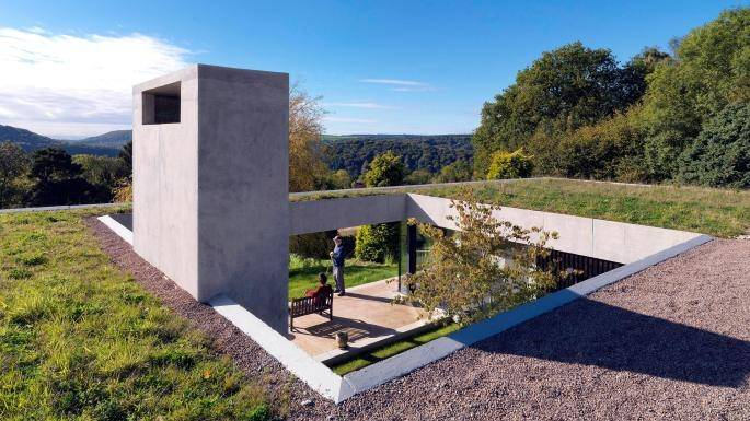 'It's like a wooden spaceship': Grand Designs' Kevin McCloud is lost for  words at spiral home with no straight lines in a Somerset meadow | Homes  and