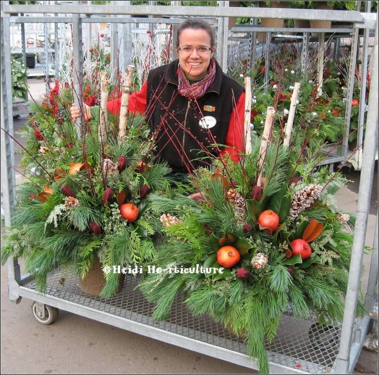 festive pine tree porch planters outdoor christmas planter ideas holiday  container best