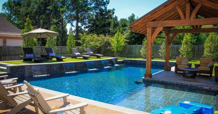 landscaping ideas for pool