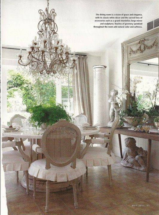 french style dining table this makes me want to find an old table and a  pallet